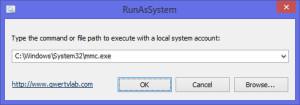 RunAsSystem